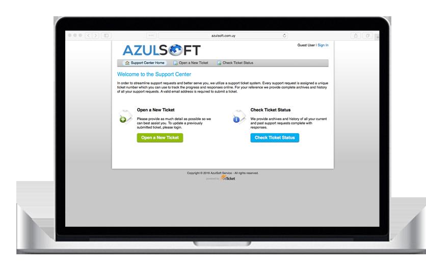 Sitema eTicket AzulSoft